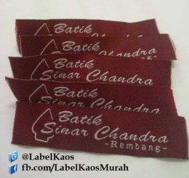 Label Baju Batik