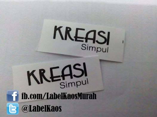 jual nylon label